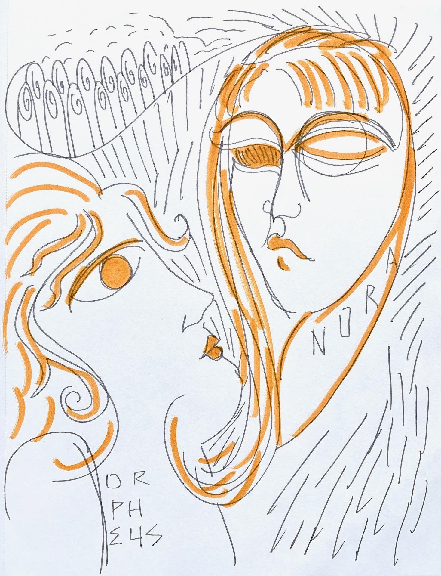 Orpheus & Nora (After Rilke), II