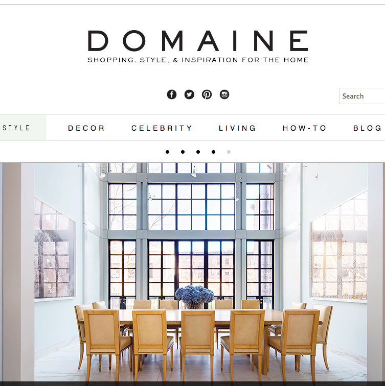 Domaine Home/May 2014