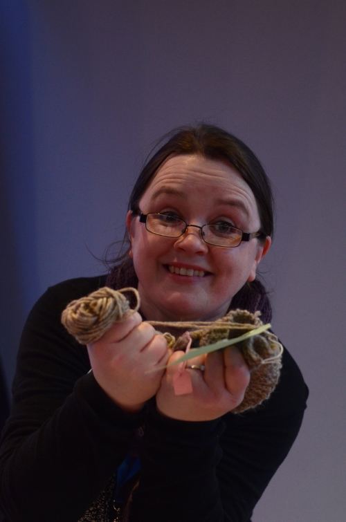Louise of Knitbritish (Image by Jeni Reid)