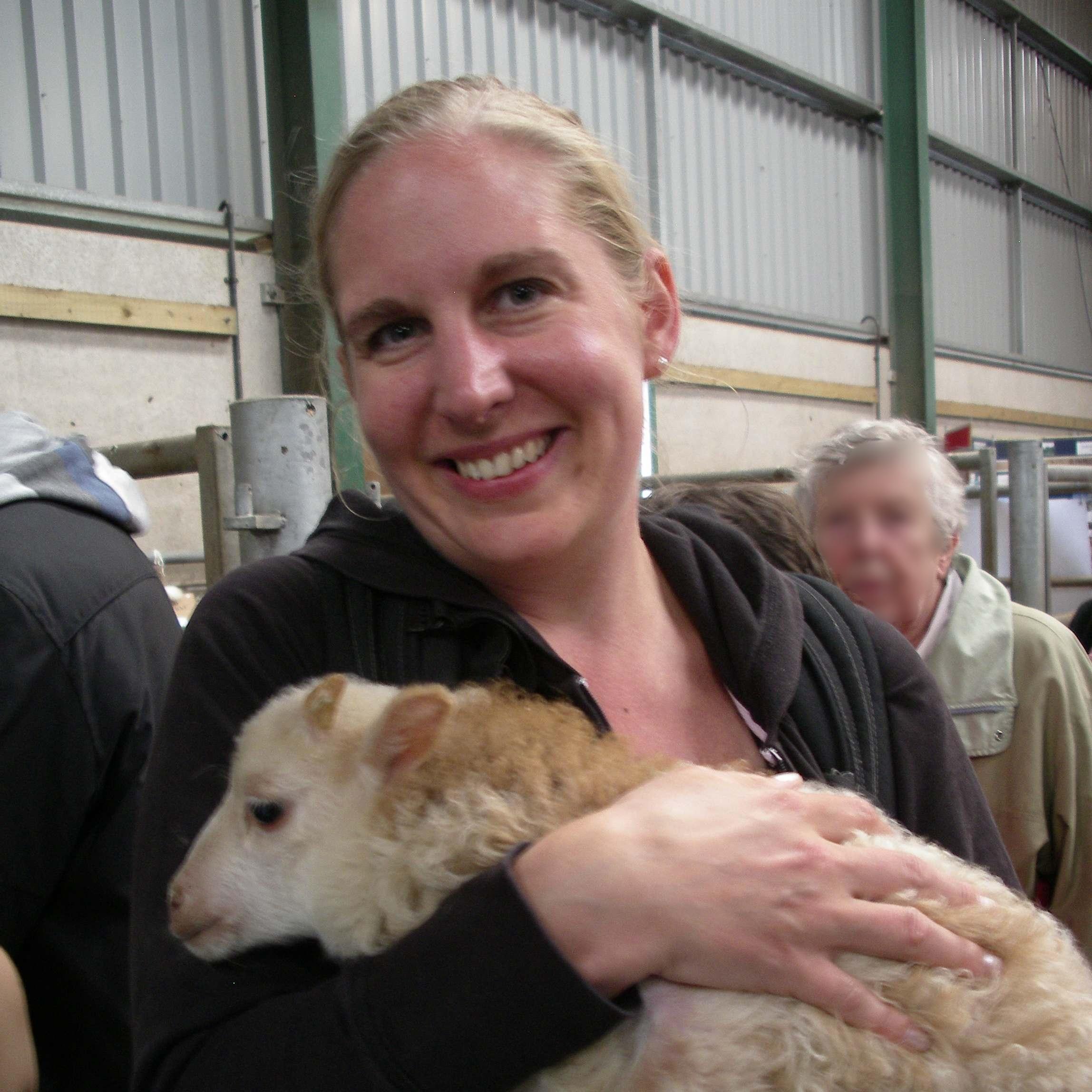Mica in 2011 at Woolfest in Cumbria