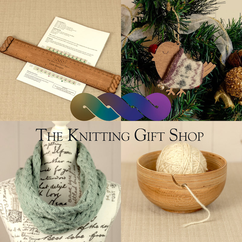 THE KNITTING GIFT SHOP  Original design knitting kits, natural wool from fleece sourced in the UK and spun in Yorkshire and Devon. Unique knitting gifts, yarn bowls, swifts, accessories & notions all hand made in County Durham.