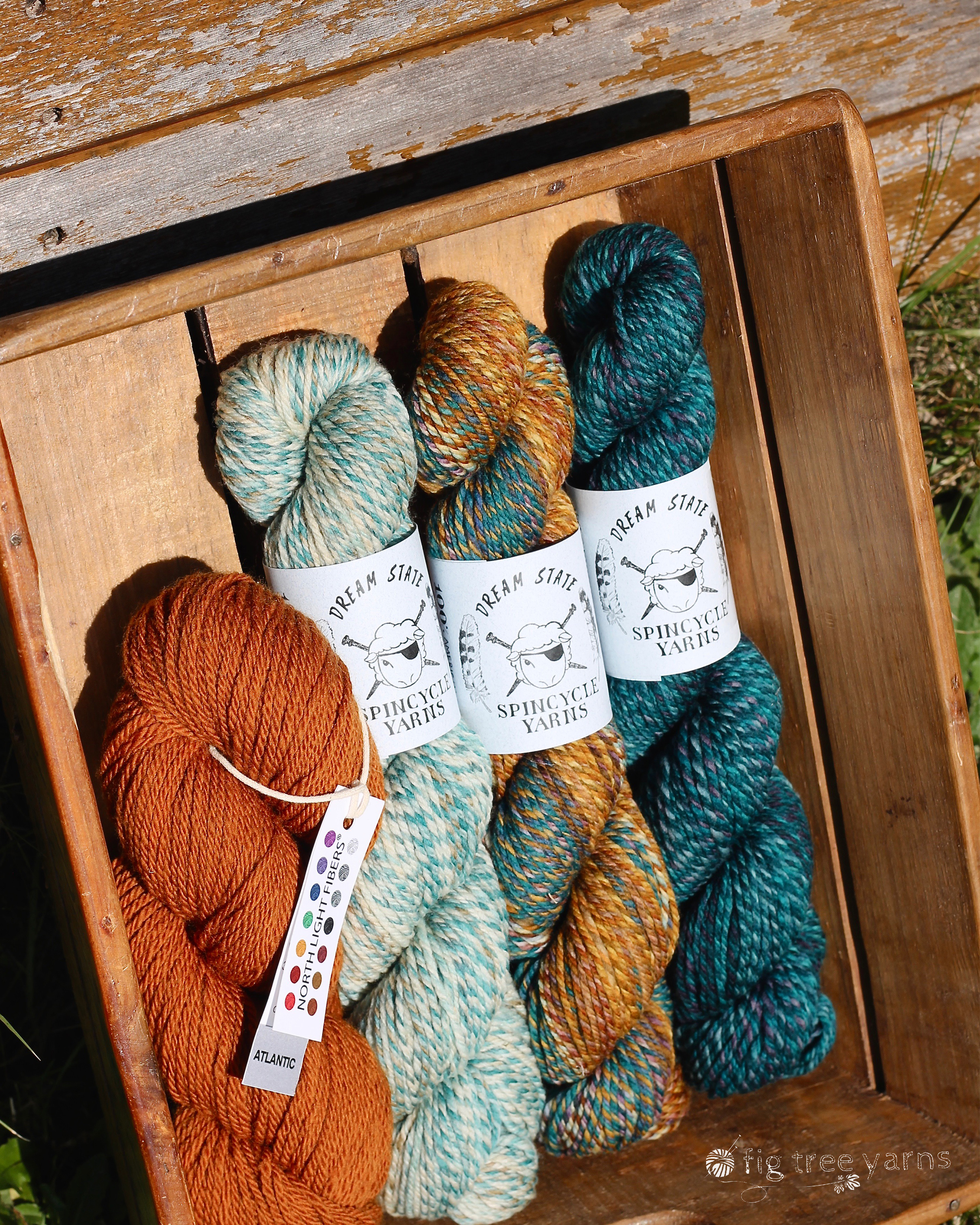 FIG TREE YARNS  Rachel and Kate from Spincycle Yarns, need no introduction to the discerning knitter and Fig Tree Yarns will bring 'Dyed in the Wool', 'Dream State' & 'Versus' to EYF 2019. 'The Shift' Cowl which we launched at EYF 2018 was one of the most popular patterns of the year and for EYF2019, we are launching another exciting Spincycle wonder. Don't miss it!