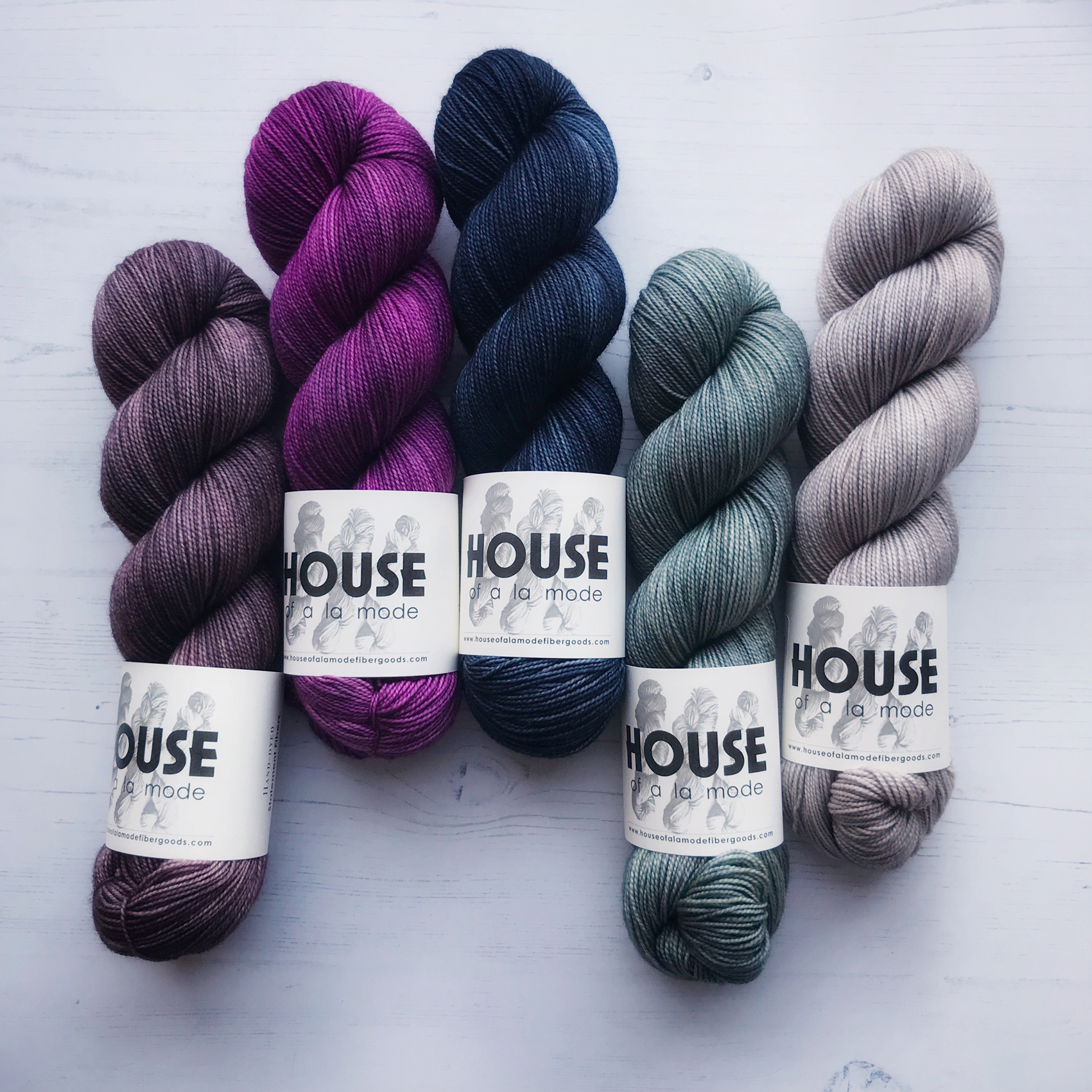 A YARN STORY  Brimming with hand dyed yarns and luxury fibres we are bringing our absolute favourite yarns from Magpie Fibres and House of a la Mode to Edinburgh, including some special treats and exclusive new designs.
