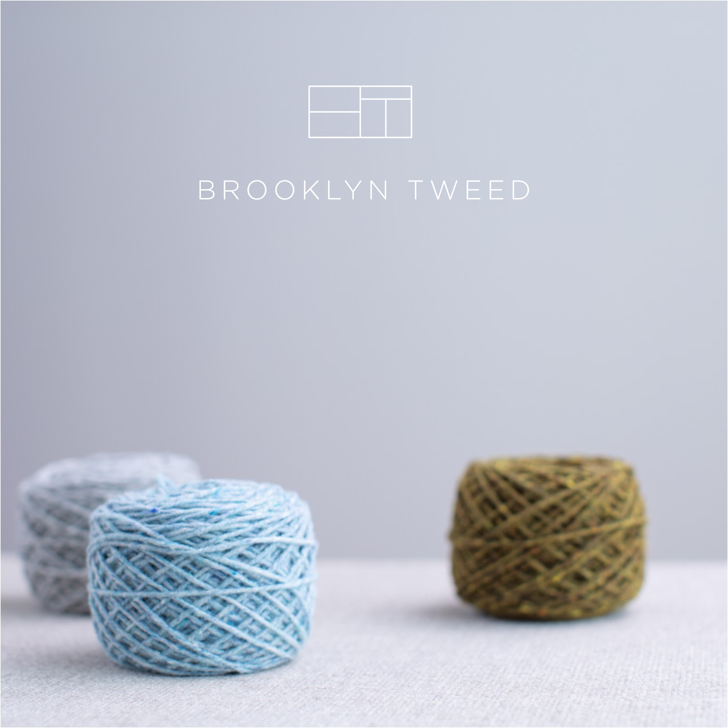 BROOKLYN TWEED  Brooklyn Tweed develops and manufactures breed-specific wool yarns that support domestic textile production in the United States — designing, sourcing, dyeing, and spinning yarns for the modern maker. Brooklyn Tweed also designs and publishes knitwear patterns that meld handknitting traditions with contemporary style, giving makers the inspiration and resources to create garments and accessories that are pleasurable to knit and wear.