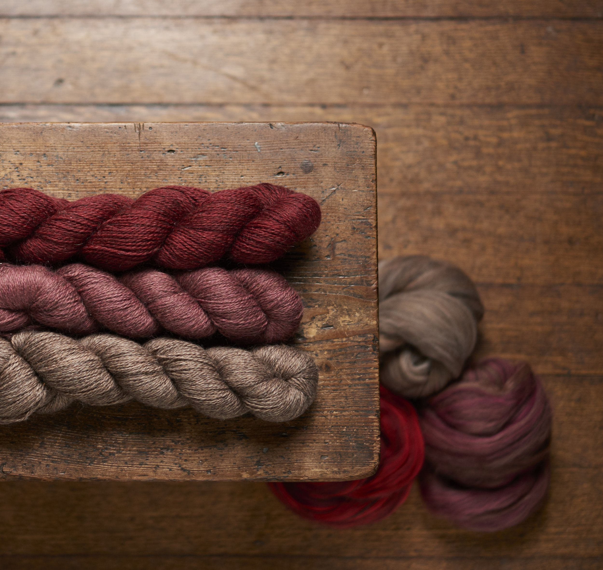Harvest Hues Yarn & Tops