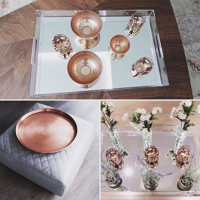 copper highlights and accessories so warm and subtle  some lovely items from Anthroplogie #copper #interiordesign #interior #interiorstyling #interiors #accessories #homedecor #homedecoration #anthropologie #furniture #home