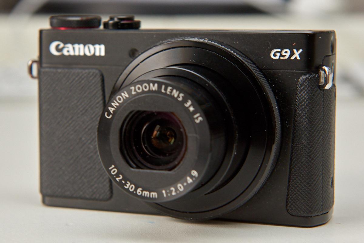"Digitale Kompaktkamera mit 1"" Sensor Canon G9X"