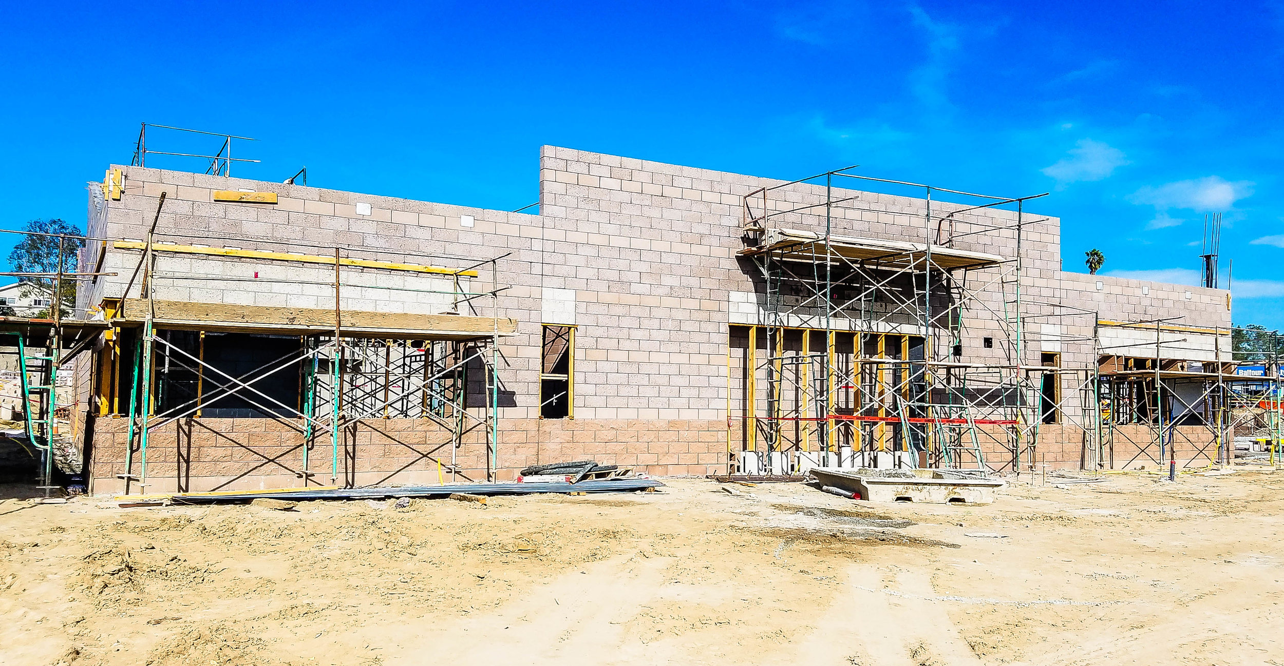 Skyline Elementary Construction