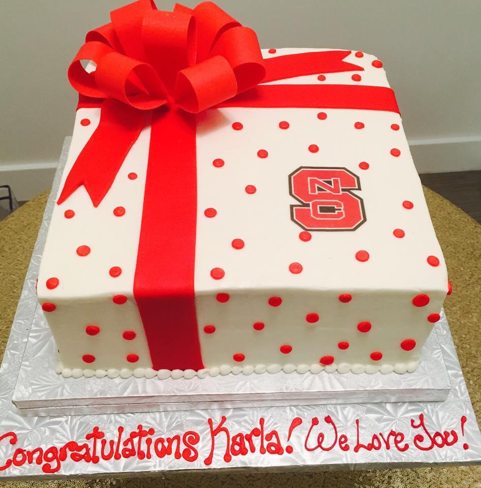 NC State graduation cake