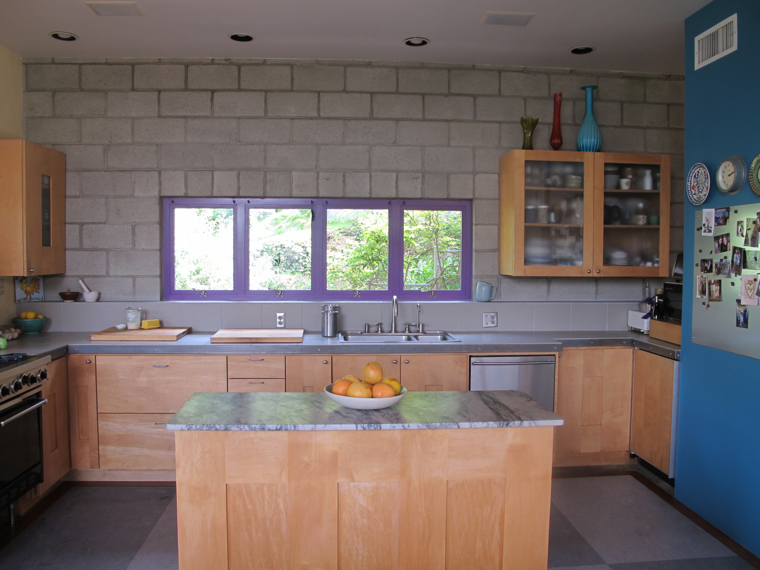 my kitchen in calmer, cleaner times.