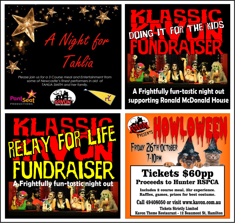 Funds have also been raised for SIDS, Starlight Foundation, Cancer Council, RSPCA, Ronald McDonald House and other community and individual causes.