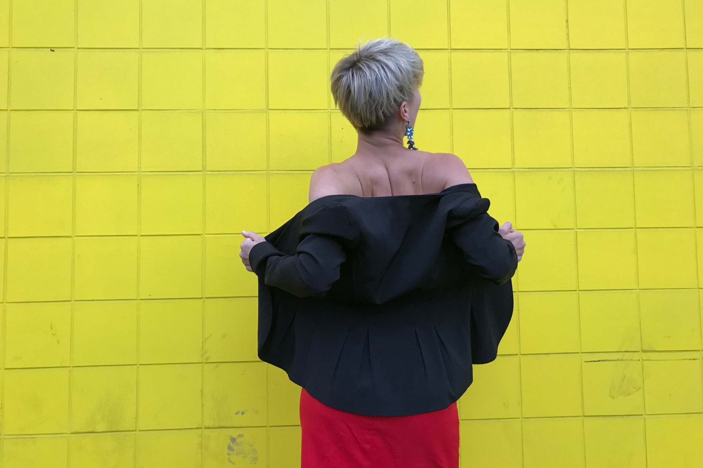 Credits: Photo - Anonymous, Styling - Sarah G. Schmidt, Location - 300 Block of 14 Street NW