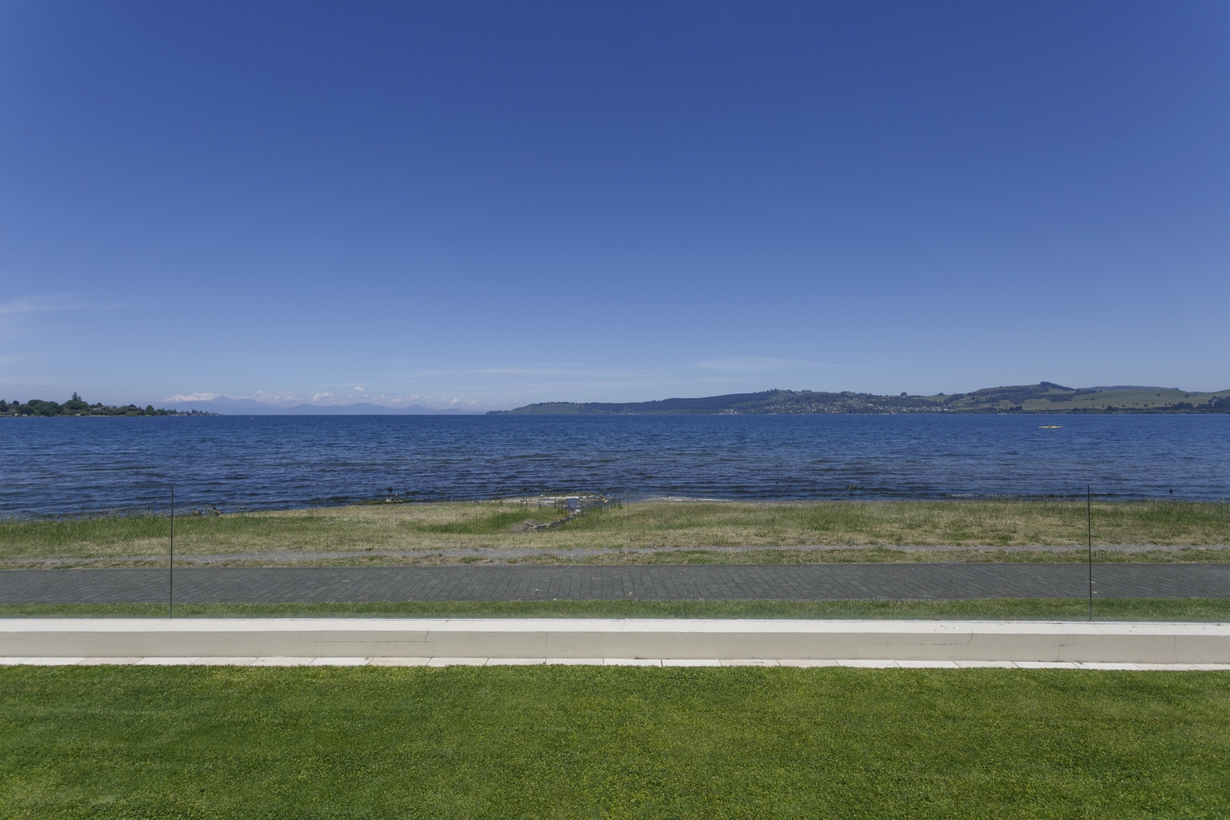 Ground floor two bedroom apartment view of Lake Taupo and the mountains.jpg