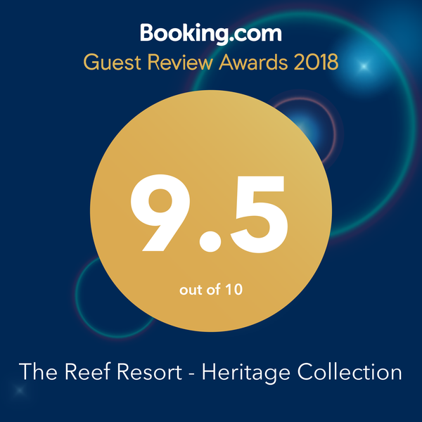 bookingdotcom Guest review awards 2018 95 out of 100