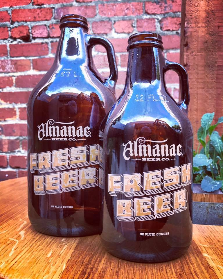 Brewer's Beer Pairing Dinner at Almanac Taproom for 6