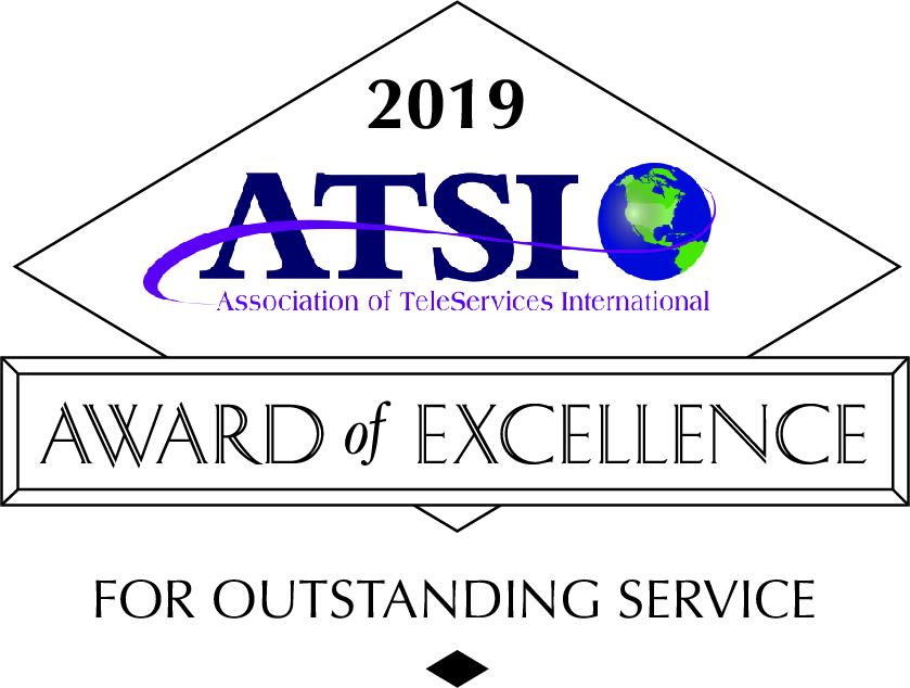 ATSI Award of Excellence - 2019 Press Release