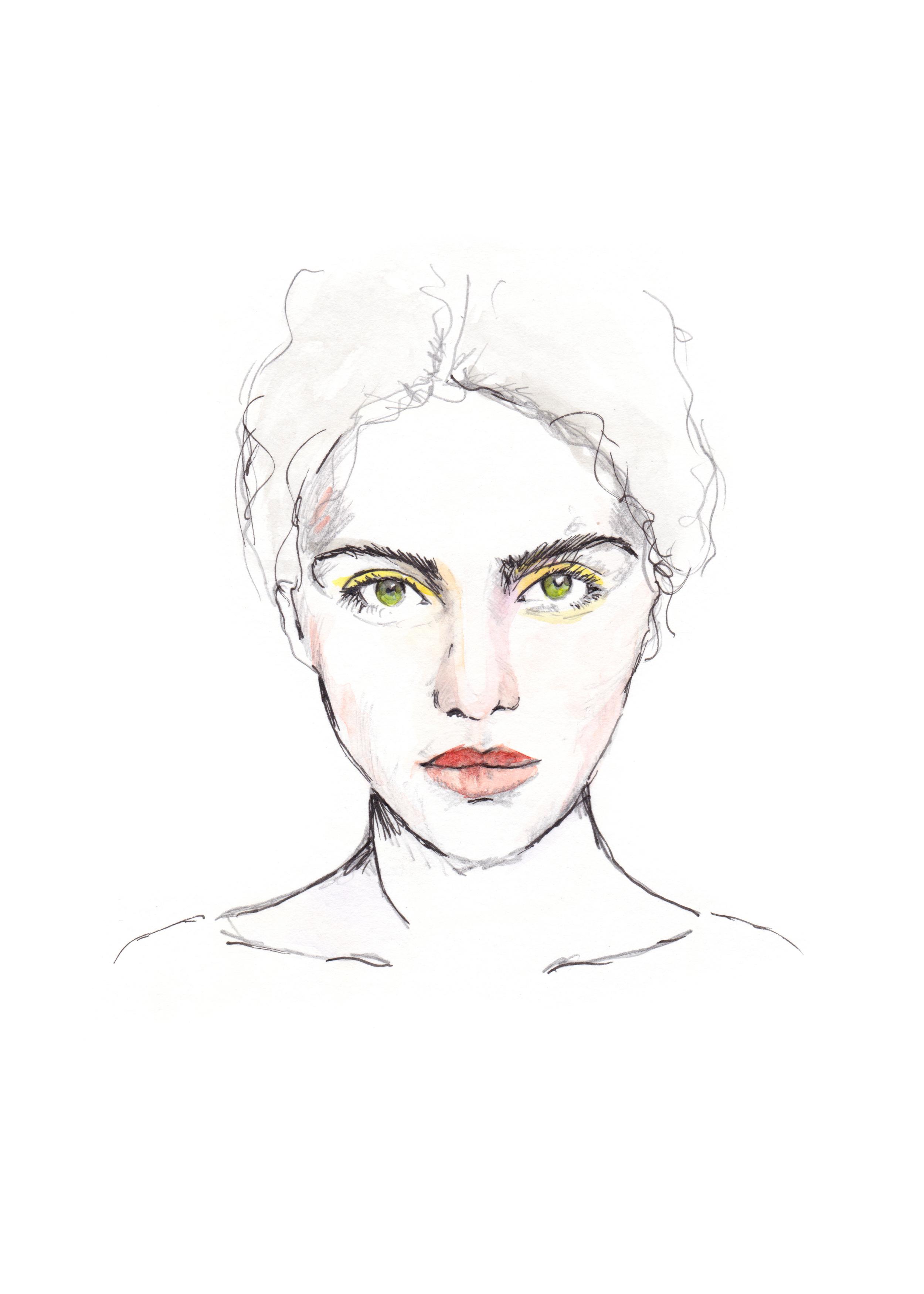 Olive Eyes Portrait  _ Maryam Gaber.jpg