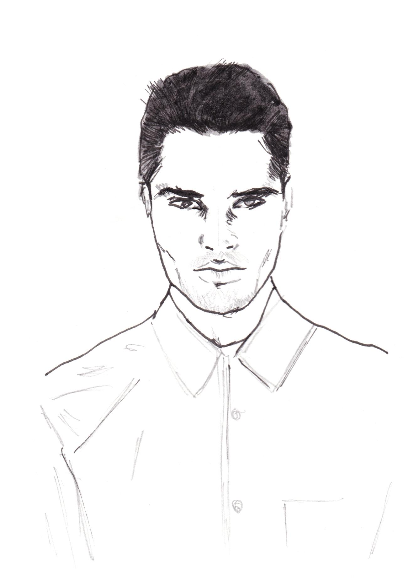 Model Man Portrait _ Maryam Gaber.jpg