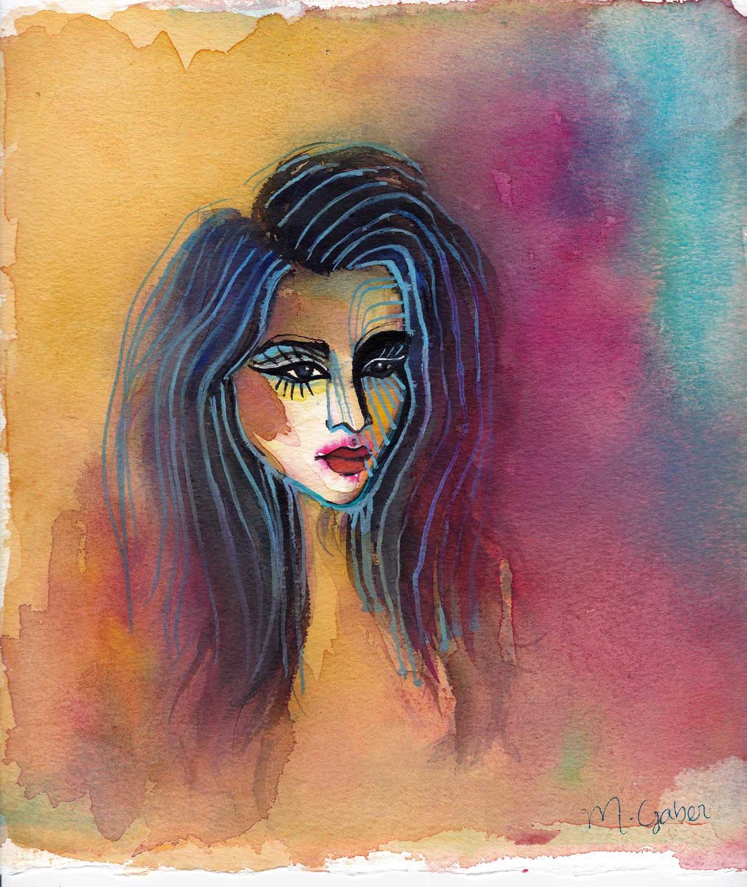 Maryam Gaber-Portrait-Watercolor-Queen-colorlover--2016 5-1500.jpg