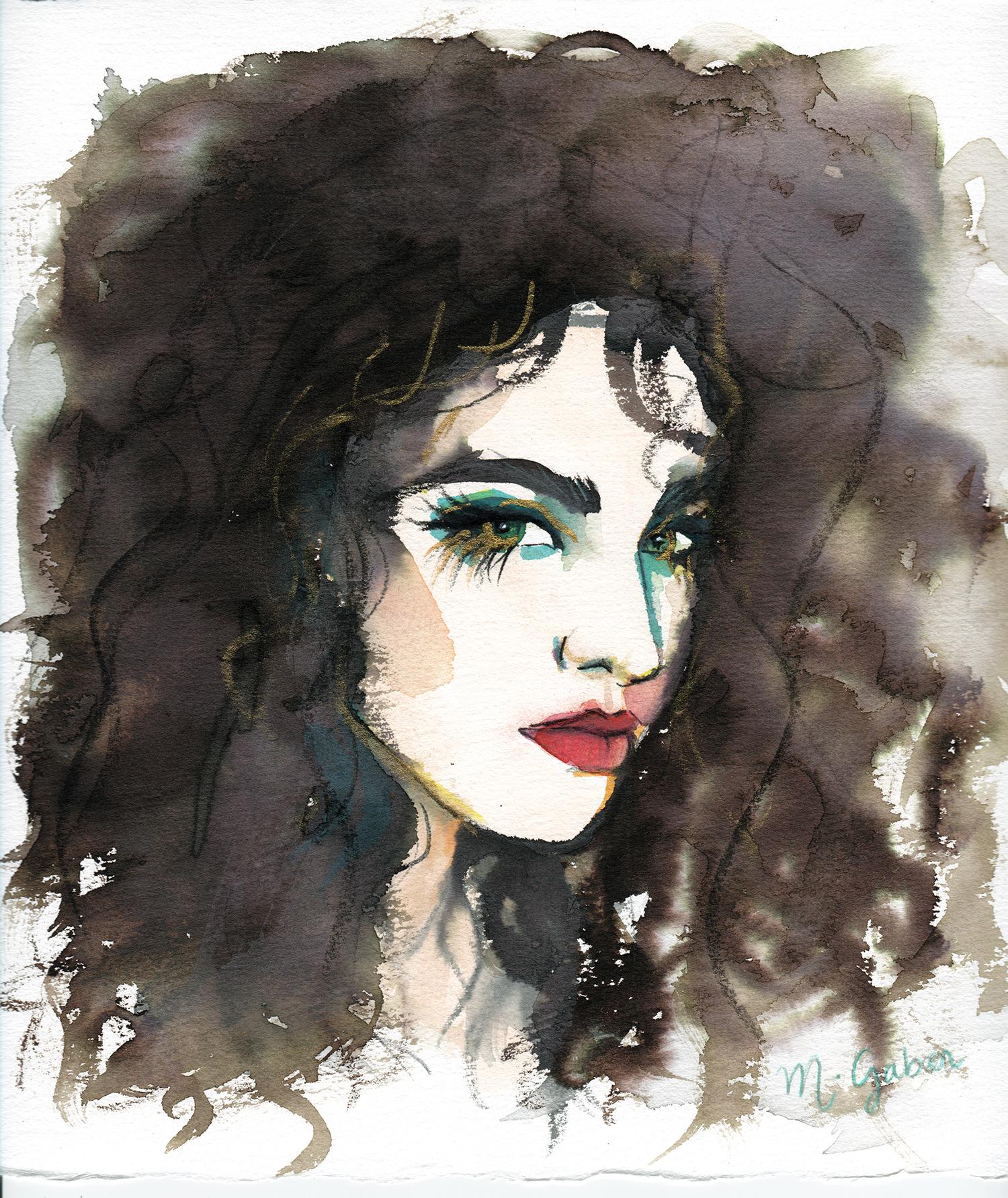 Maryam Gaber-Portrait-Watercolor-Queen-2016 2-1500.jpg