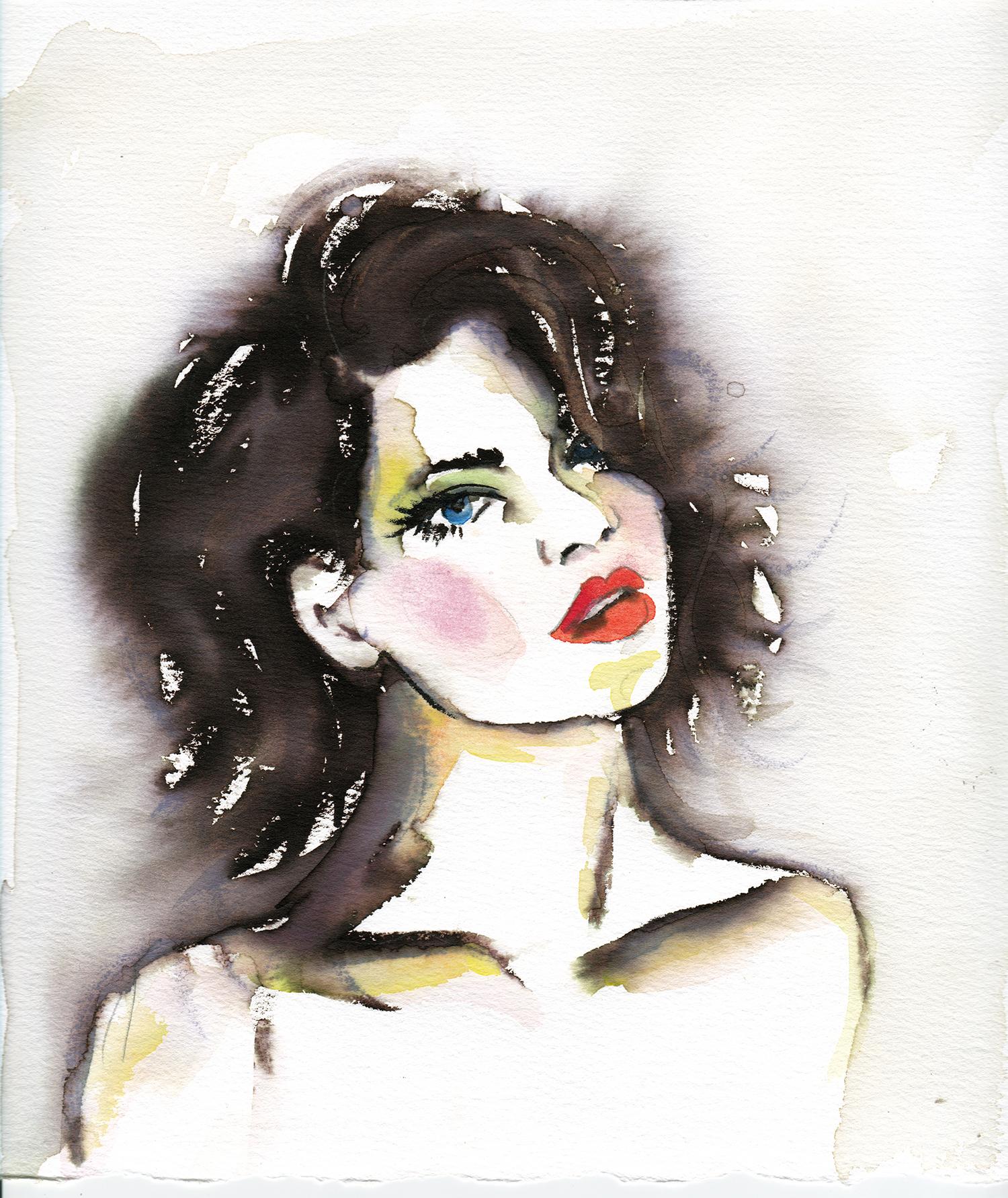 Maryam Gaber-Portrait-Watercolor-Queen-2016 3-1500.jpg