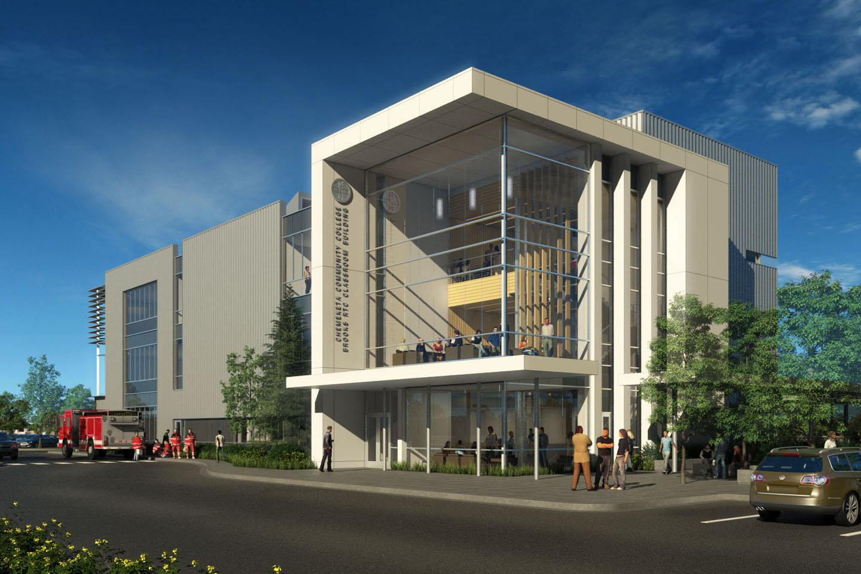 Chemeketa Community College: Brooks RTC Classroom Building