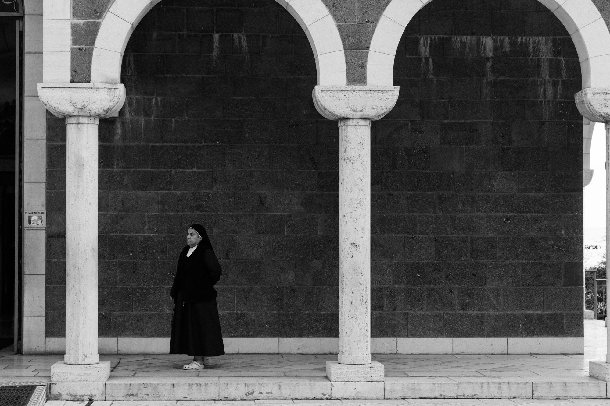 mt. of beatitudes, israel.   israel collective