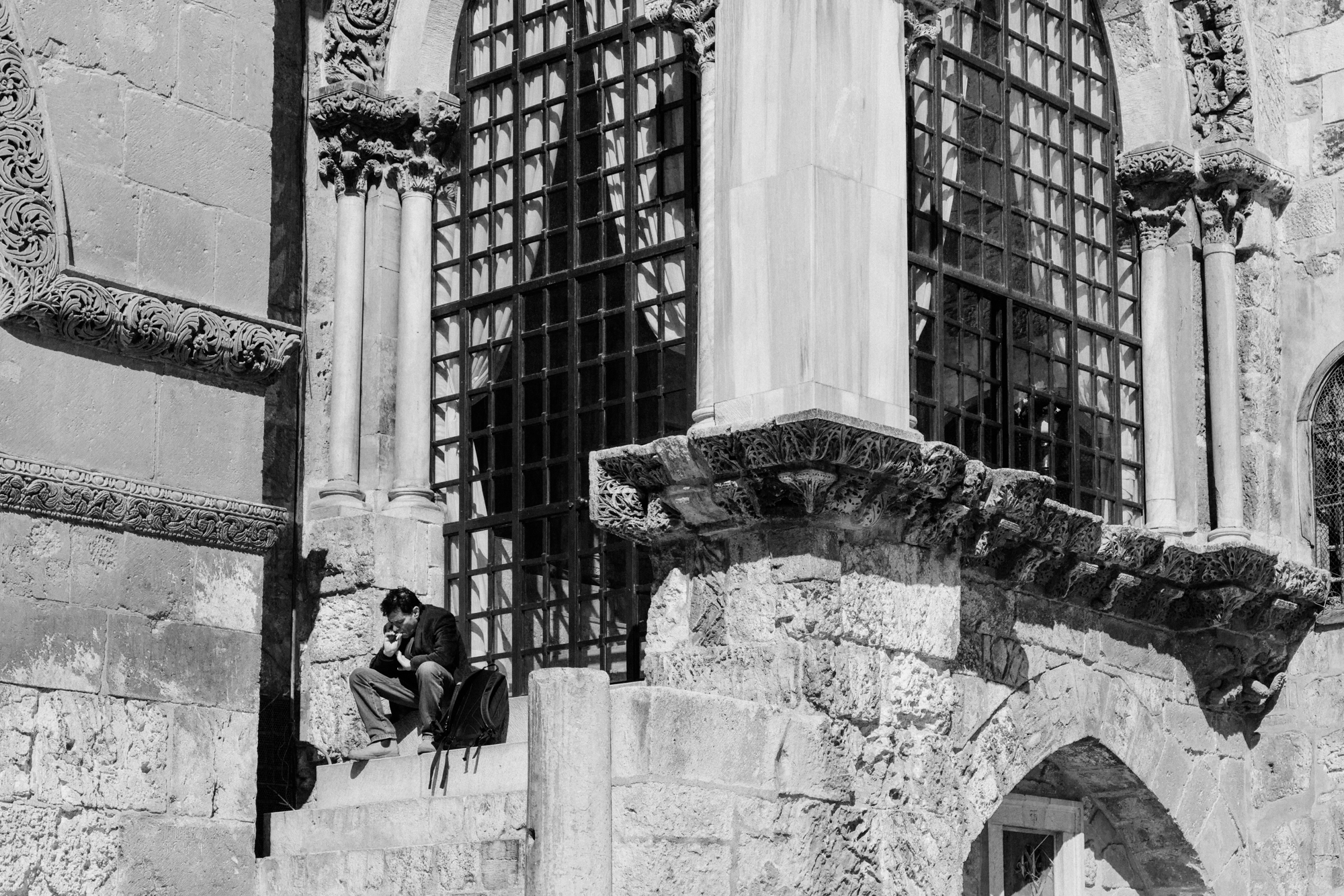 church of the holy sepulchre, jerusalem, israel.   israel collective