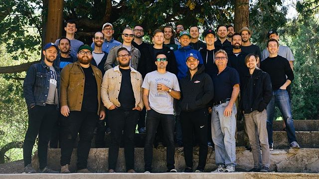 Last weekend with men from @crossofchristoc was so great. We studied and practiced rest, worshipped, went on hikes, laughed and shared stories, played football, spikeball, volleyball, and hammerschlagen. Super thankful and excited to see what God does in and through these men in the next year.
