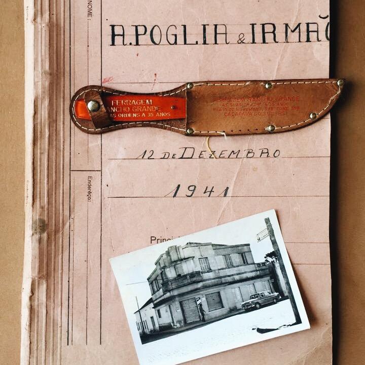 The oldest Poglia knife