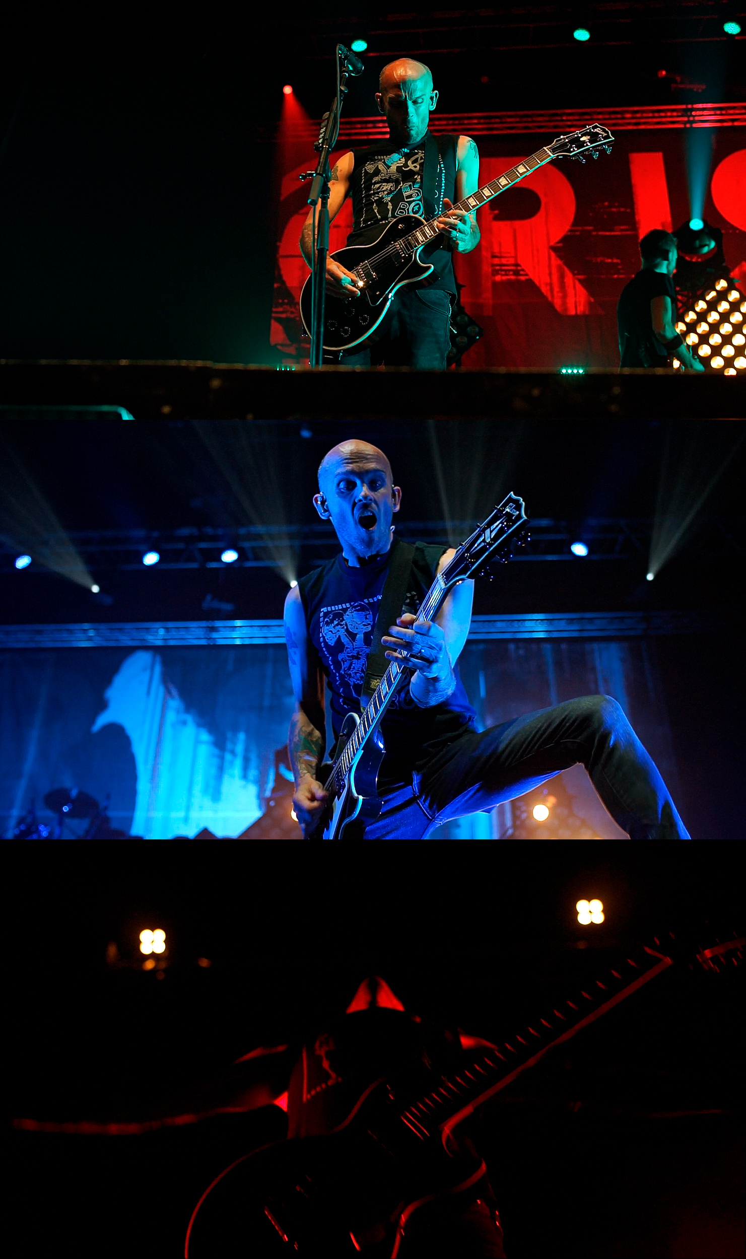 Rise Against - Screenshots / Still frames from Promo Vid.