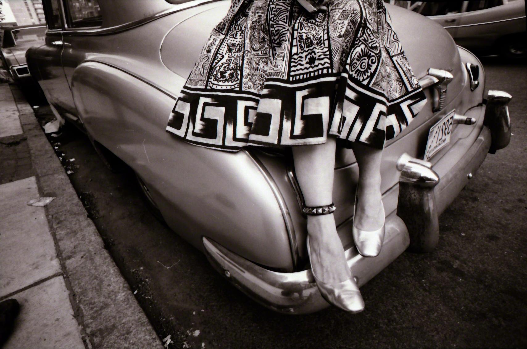 "Silver slippers, 1980; copyright Megan ""Montana"" Smith."