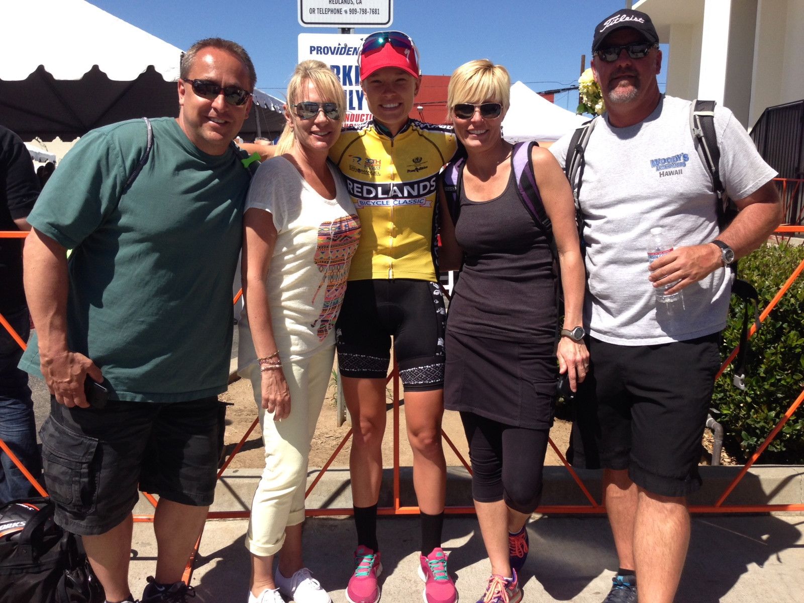All four of my incredible parents: From left to right, Step Dad Wes, Mom Sher, me, Step Mom Cortney and Dad Rick :)