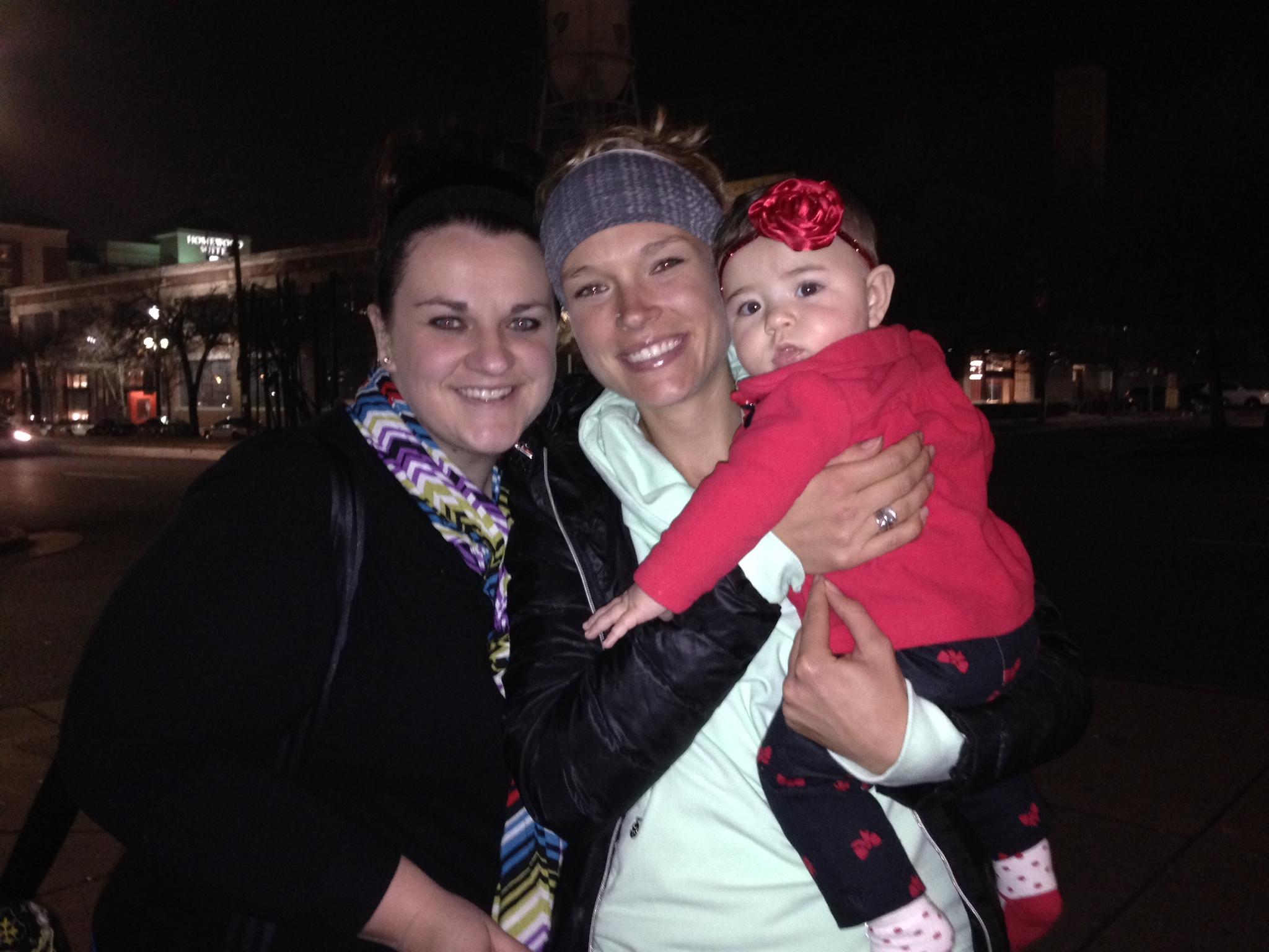 My incredible Sister Lindsey, her beautiful daughter Ava and me.