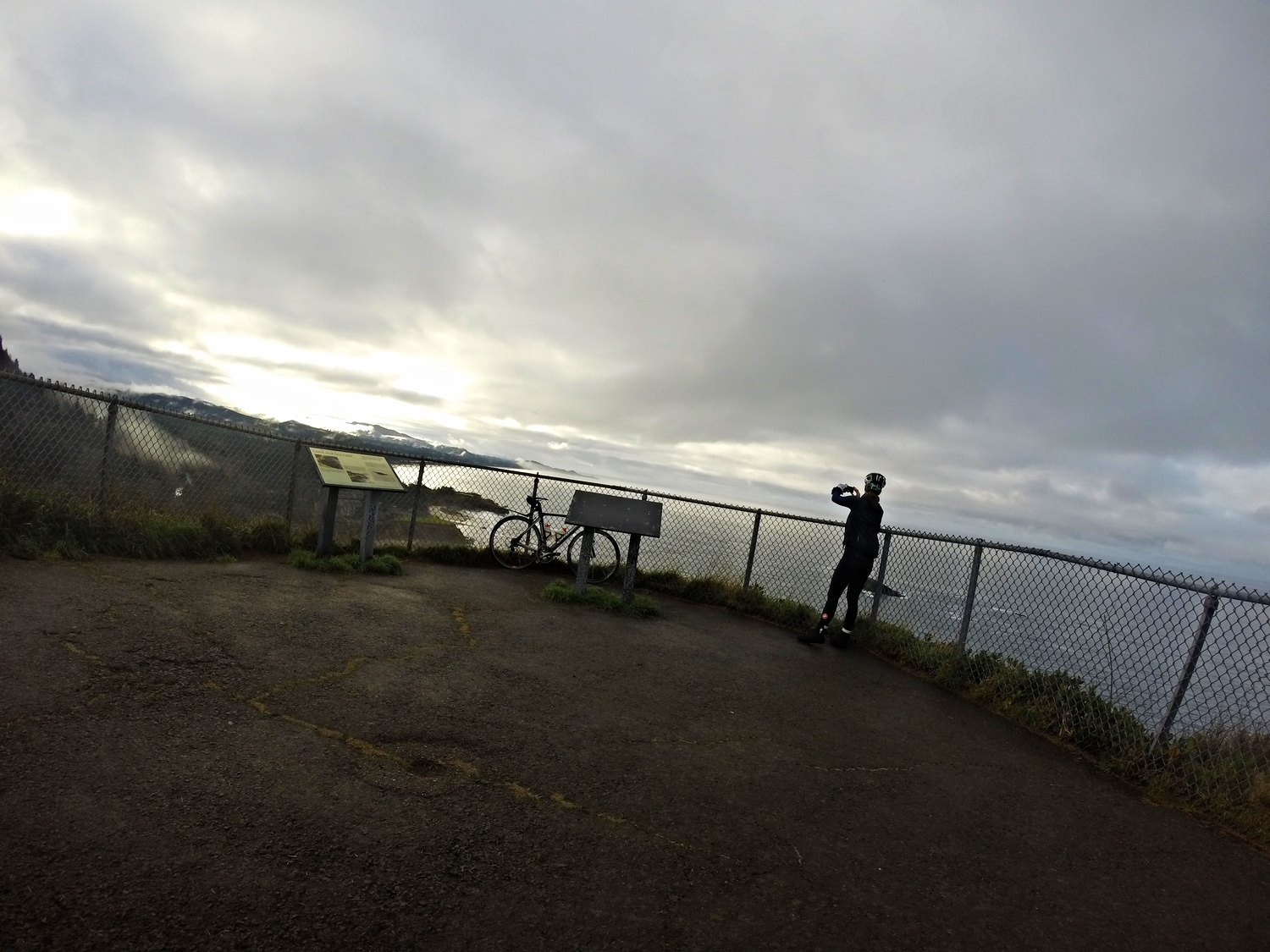 """First little """"vista point"""" along the route was Cape Foulweather...so beautiful we had to stop!"""