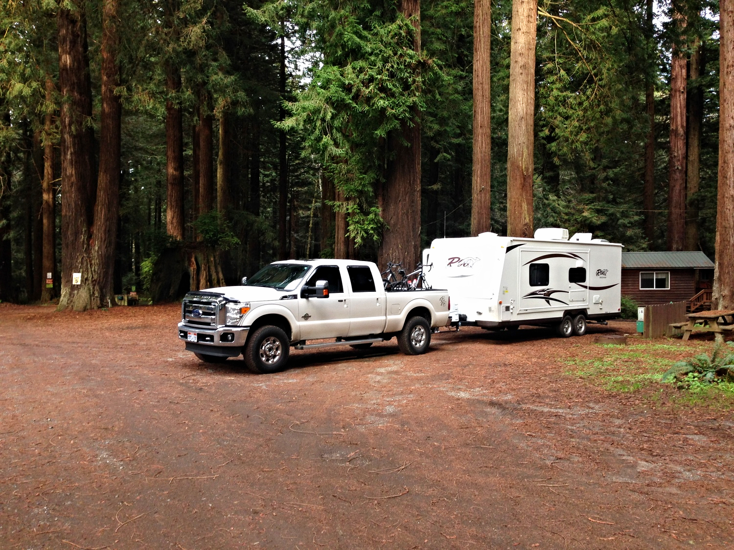Emerald Forest campground