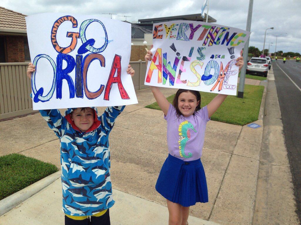 Awesome mini Orica fans! :)