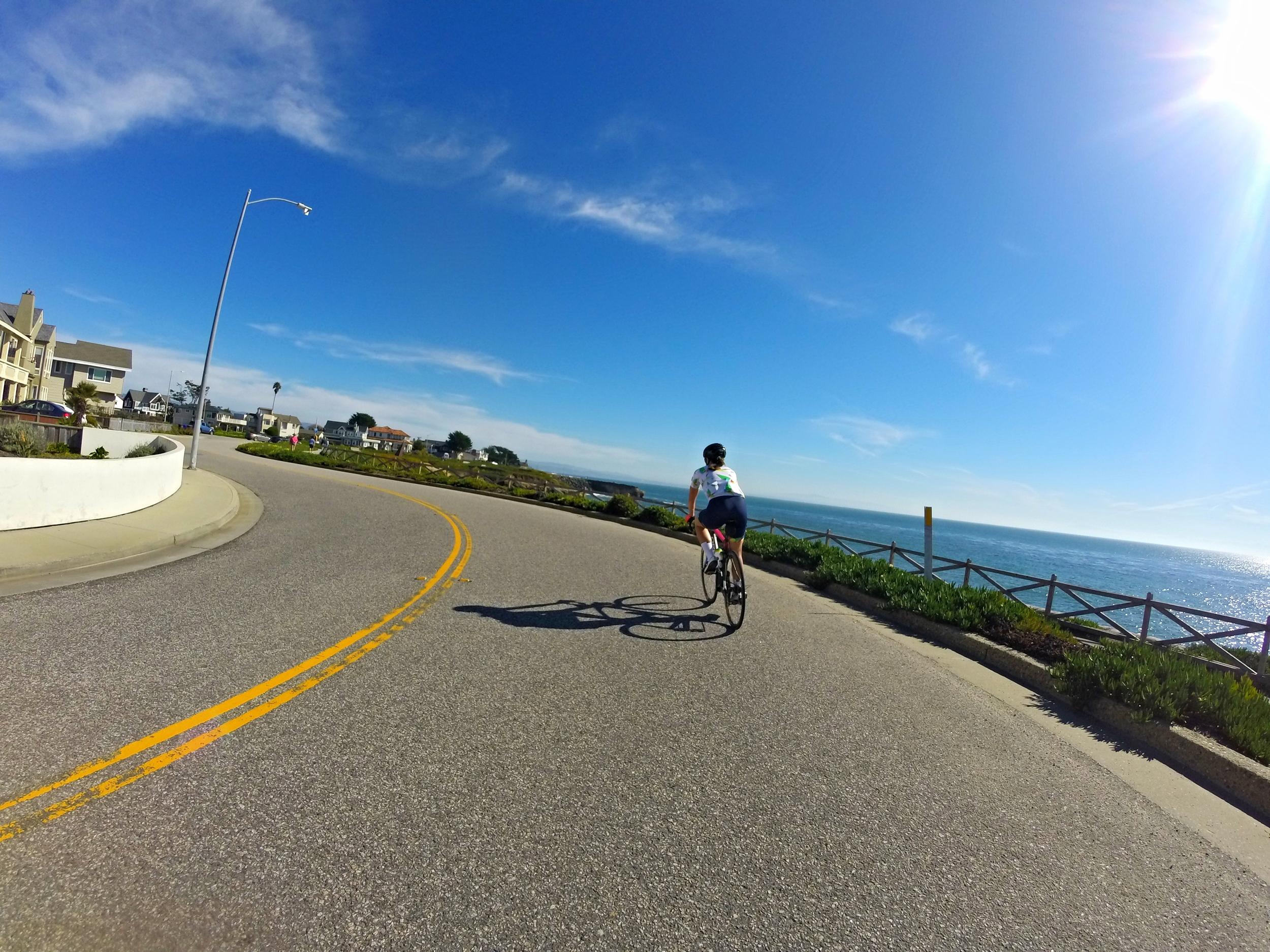 Rolling into Santa Cruz!