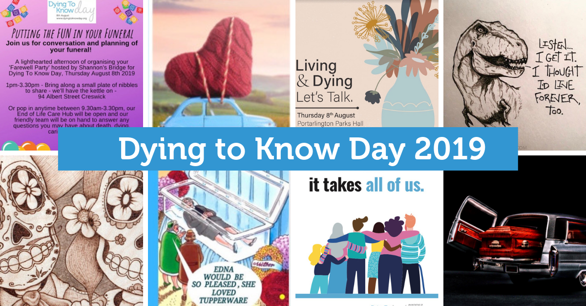 D2KDay - August 8th - A national day for talking about death and dying. Hundreds of events across Australia each year, sign up to be notified.