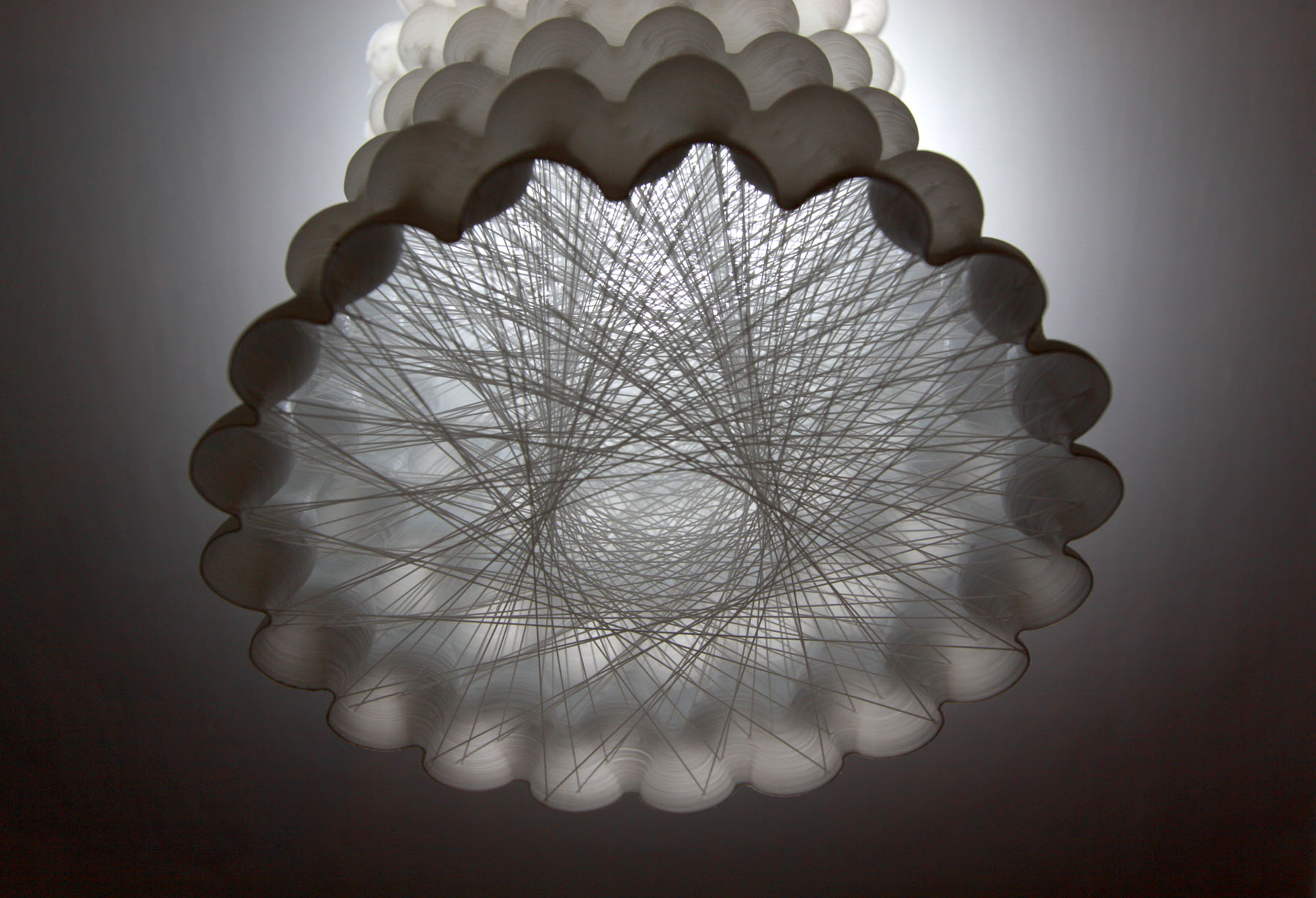 Cloud Capsule by Arthur Mamou-Mani ( link ) - also see  Project Silkworm