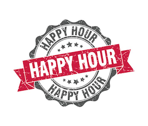 HAPPY HOUR - Enjoy our complimentary* Happy Hour Monday through Friday from 4 - 6pm!*Complimentary with purchase of beverage.