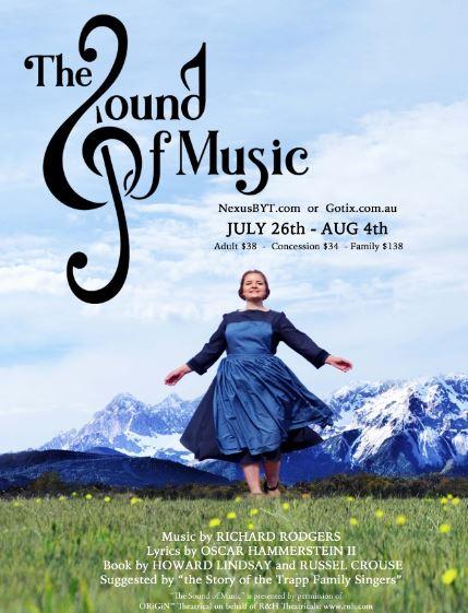 Sound of Music Tickets on Sale — NEXUS Bendigo Youth Theatre