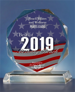 Voted 2019' Best of Bethany Beach               Awards - for Best Pilates Studio