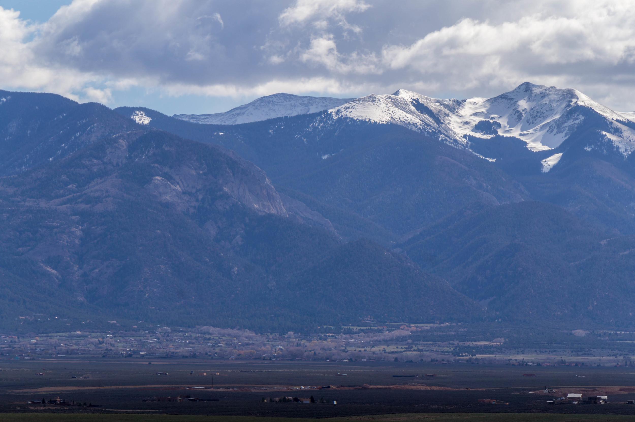 Taos at the base.