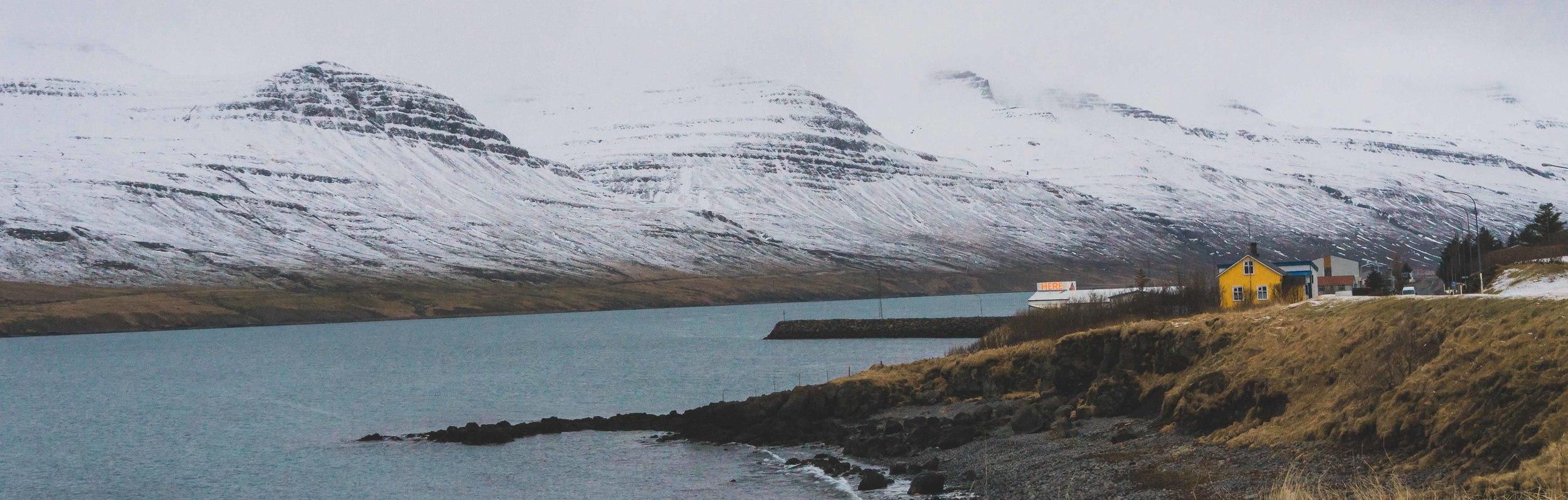 Fjords Iceland
