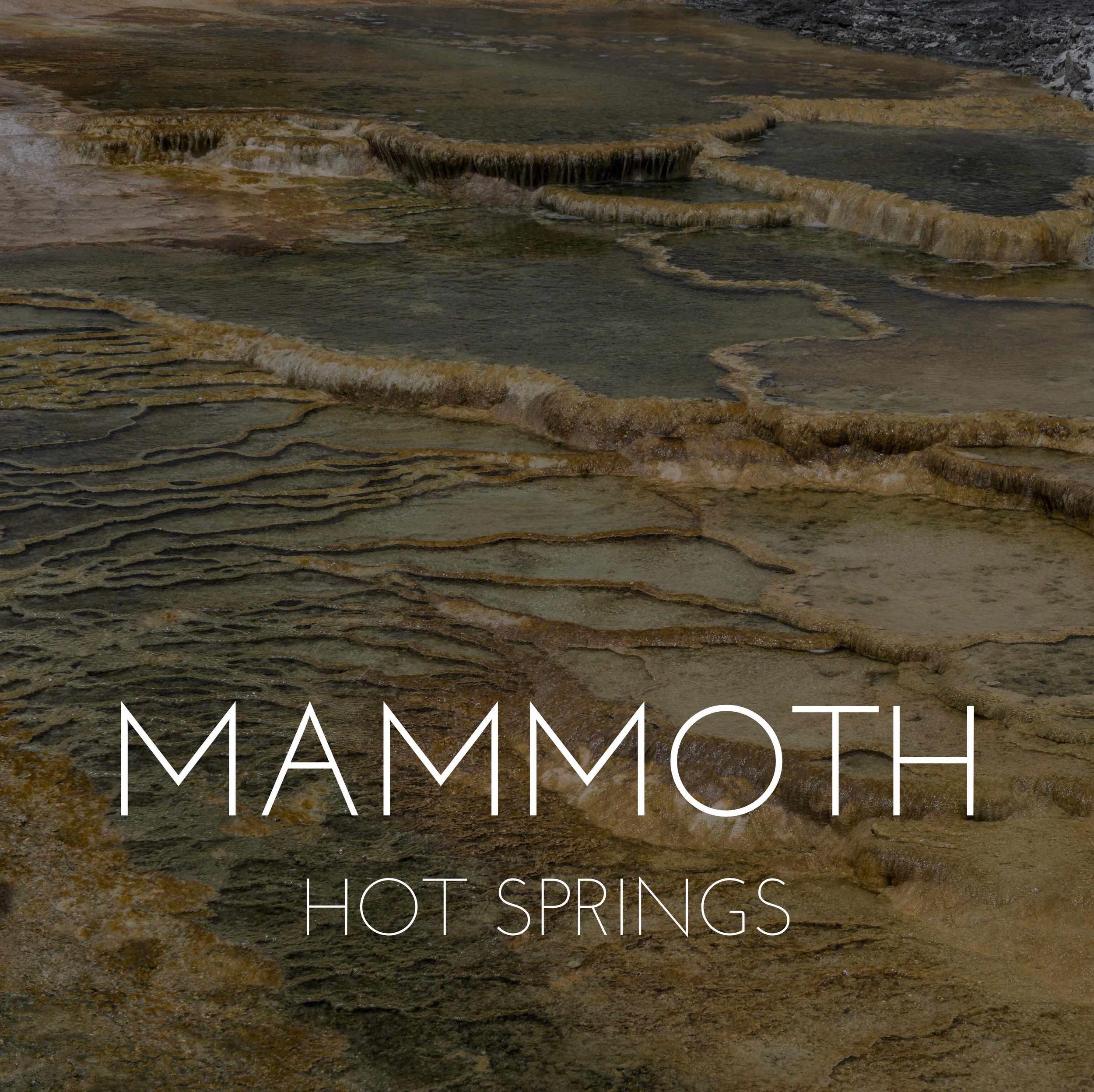 MammothHotSpringsTitle