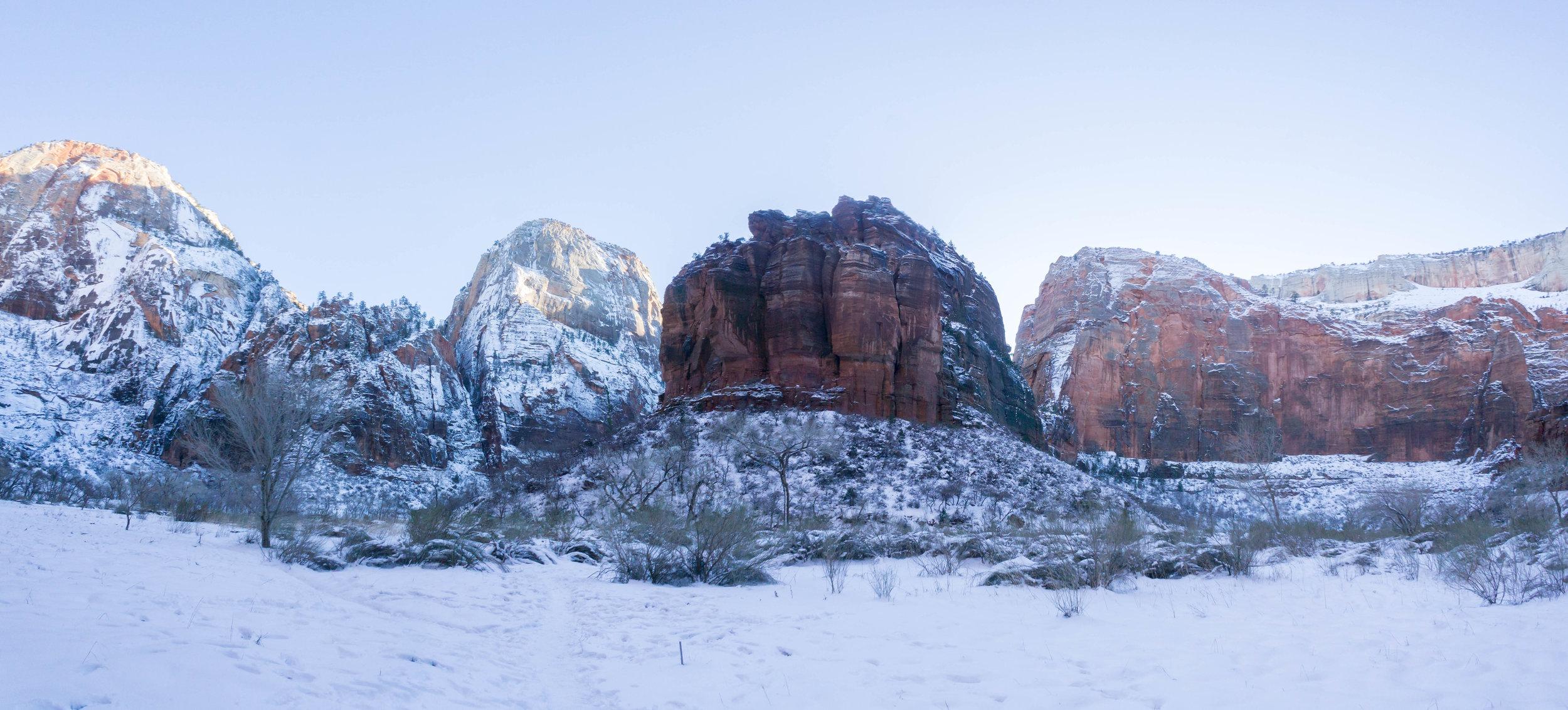Big Bend - Zion National Park