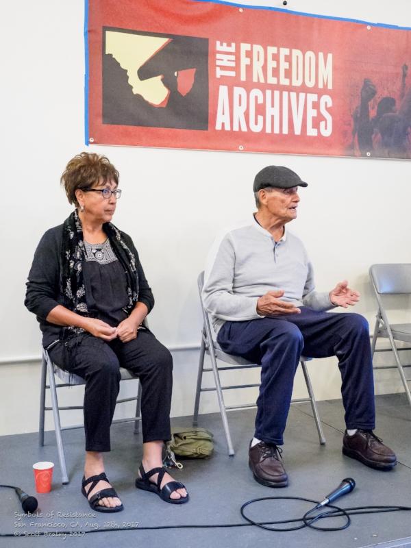 Priscilla Falcon (left) and Ricardo Romero (right)