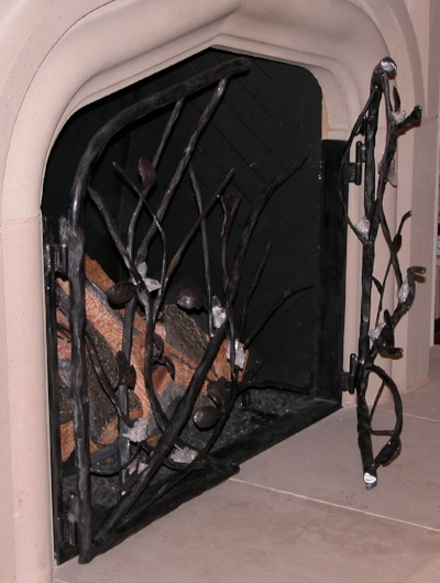 BRANCH FIRESCREEN (mounted)