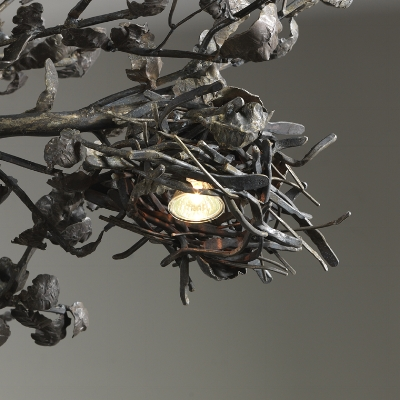 TREE CHANDELIER (detail 2)